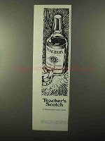 1971 Teacher's Scotch Ad - A Tradition Since 1830