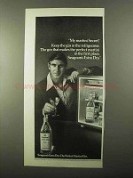 1971 Seagram's Extra Dry Gin Ad - Keep in Refrigerator