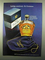 1971 Seagram's Crown Royal Whisky Ad - Indulge