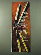 1971 Sheaffer Lady Sheaffer Pens Ad - Expressions