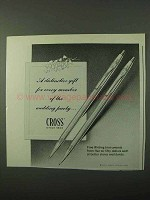 1971 Cross Pens Ad - For The Wedding Party