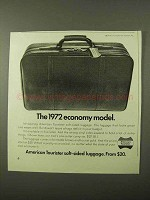 1971 American Tourister Luggage Ad - Flight Pack