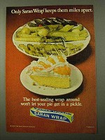 1971 Saran Wrap Advertisement