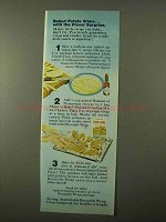 1971 Reynolds Wrap Ad - Baked Potato Slims Surprise