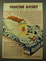 1971 Reynolds Wrap Ad - Frozen Neapolitan Delight