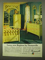 1971 Thomasville Brighton Furniture Ad - Sunny