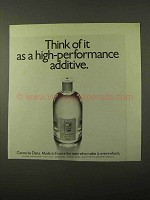 1971 Dana Canoe Cologne Ad - High-Performance Additive
