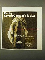 1971 Old Spice Burley Cologne Ad - Captain's Locker