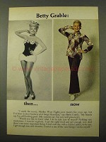 1971 Geritol Tablets Ad - Betty Grable