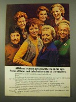1971 Geritol Tablets Ad - These Women Are the Same Age