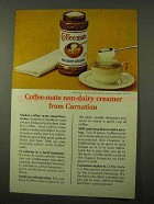 1971 Carnation Coffee-mate Non-Dairy Creamer Ad