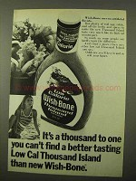 1971 Wish-Bone Low Cal Thousand Island Dressing Ad