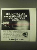 1971 General Electric Plus 25 Headlamps Ad