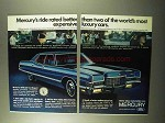 1971 Mercury Brougham Car Ad - Rated Better