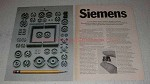 1971 Siemens Ferrites Ad - Quality Products