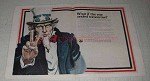 1971 LTV Aerospace Ad - Uncle Sam - If The War Ended