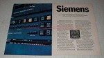 1970 Siemens EDS Electronic Data Switching System Ad