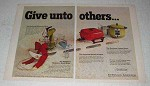 1970 Sunbeam Ad - Mixmaster Mixer, Electric Frypan