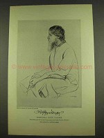 1913 Rabindra Nath Tagore Illustration - Rothenstein