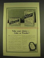 1913 Bon Ami Cleanser Ad - Take Your Choice