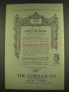 1913 Gorham Silverware Ad - A Wedding Gift