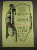 1913 Reed & Barton Heppelwite Pattern Silver Ad