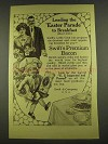 1913 Swift's Premium Bacon Ad - Easter Parade
