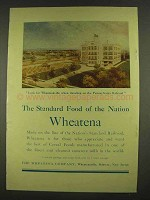 1913 Wheatena Cereal Ad - Standard Food Of Nation
