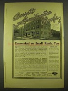 1913 Barrett Specifiation Roofs Ad - Economical
