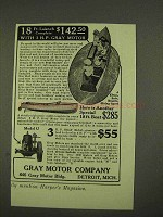 1913 Gray Motor Ad - 18 Ft. Launch 3 H.P. Motor