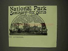 1913 National Park Seminary for Girls Ad