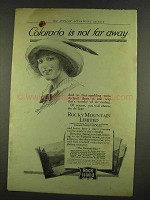 1912 Rock Island Railroad Ad - Colorado Not Far Away