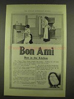 1912 Bon Ami Cleanser Ad - Best in the Kitchen