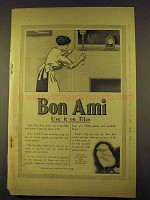 1912 Bon Ami Cleanser Ad - Use it On Tiles