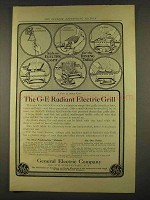 1912 General Electric Radiant Electric Grill Ad