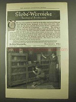 1912 Globe-Wernicke Sectional Bookcases Ad