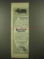 1912 Bausch and Lomb Model B Balopticon Ad