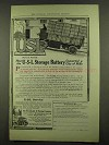 1912 U-S-L Storage Battery Ad - Converted City of Hills
