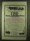 1912 U-S-L Storage Battery Ad - NYFD Fire Trucks