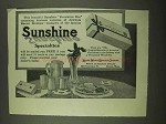 1912 Loose-Wiles Sunshine Revelation Biscuit Bonbons Ad