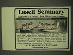 1912 Lasell Seminary Ad - Ten Miles From Boston
