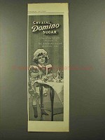 1911 Domino Crystal Sugar Ad