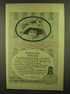 1911 Fairy Soap Ad - Children Like Fairy Soap