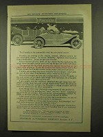 1911 Franklin Cars Ad - With the Air-Cooled Motor