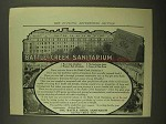 1911 Battle Creek Sanitarium Ad