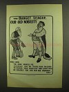 1910 Illustration of an English Poster - Budget League - Old Nobility