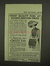 1910 Albrecht Furs Ad - At Maker's Reduced Prices