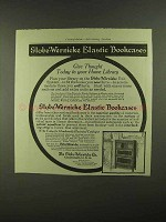 1909 Globe-Wernicke Elastic Bookcases Ad - Home Library
