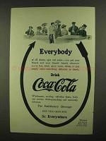 1909 Coca-Cola Soda Ad - Everybody