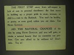1909 Sapolio Soap Ad - The First Step Away